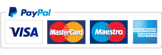 Pay with PayPal or any major credit card